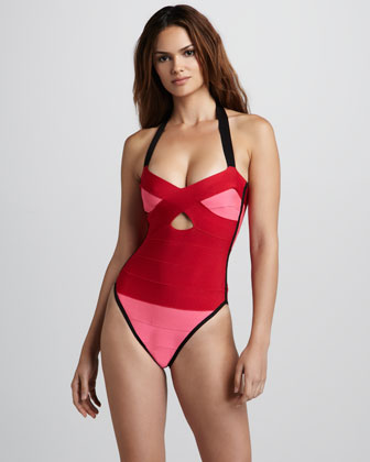 herve leger bandage one piece
